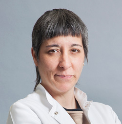 Conxita Morales, Enfermera del ICOF Institut de la còrnia i d'oftalmologia